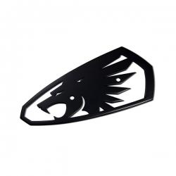 Syndicate Badge 鋁標 (豹頭)  亮黑色徽章